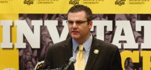 Darron Boatright, Wichita State Athletic Director